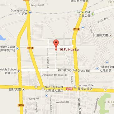 Logonet China Guandong Map