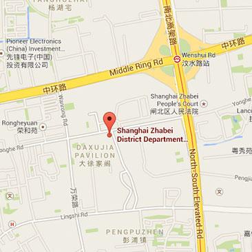 Logonet Shanghai office map