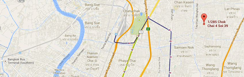 Logonet Bangkok map
